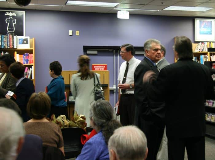 Folsom Lake College executives and Stan Atkinson at The Altar Boys Premier Party.