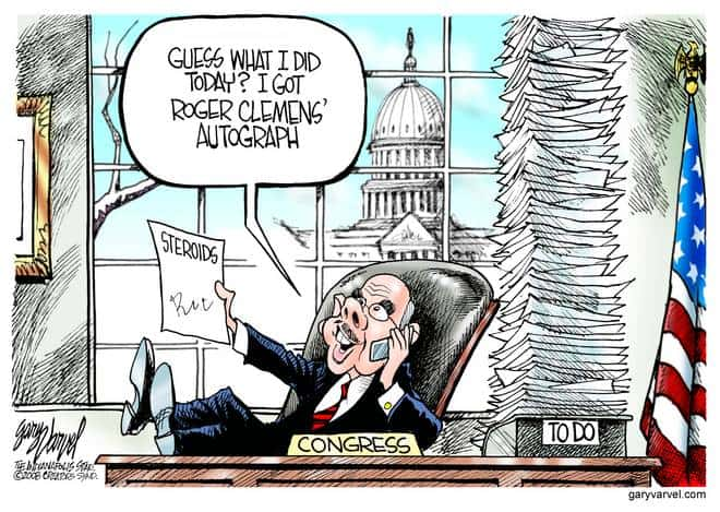 Editorial Cartoons by Gary Varvel - gv20080215cd - 15 February 2008