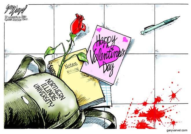 Editorial Cartoons by Gary Varvel - gv20080218acd - 18 February 2008