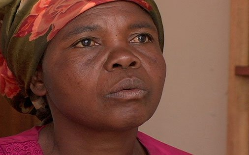 Marcelline MSeba, 43 years old, mother of 9 Forced to become a bush wife, was repeatedly raped by Rwandan soldiers.