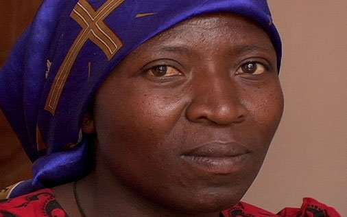 Alexandrine MKajibwami, mother of 9 Raped by Rwandan soldiers, her husband was murdered trying to protect her.