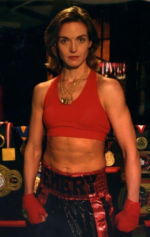 Jill Emery Ruby Red.