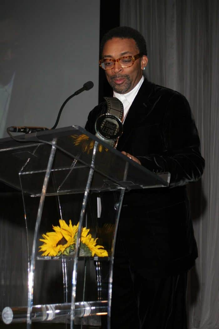 Spike Lee Behind the Lens honoree.