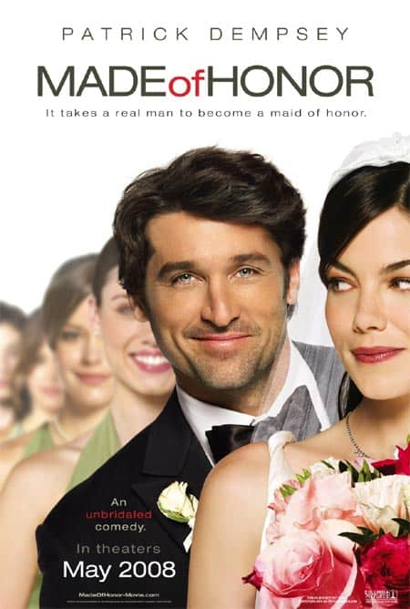 Made of Honor comedy publicity poster