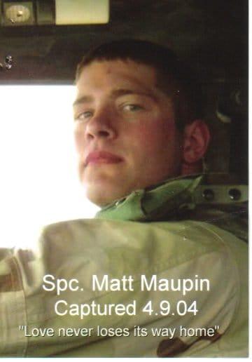 SSgt Matt Maupin