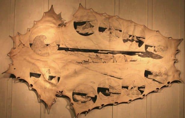 Sealskin art