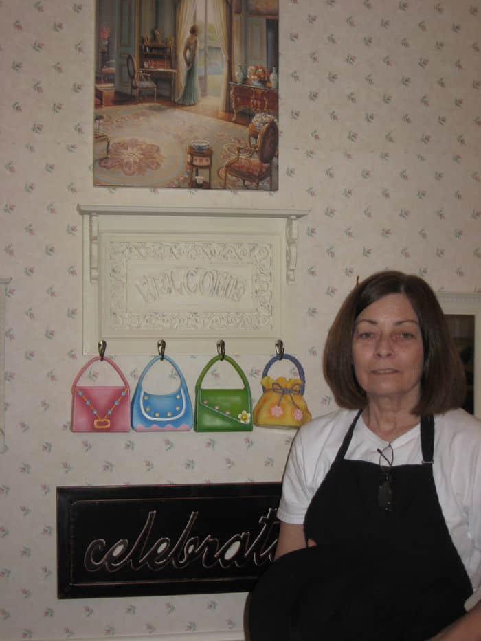 Kathy Freeman of Partea Time, Folsom.