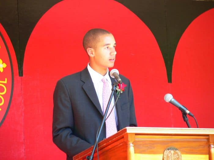 African American Valedictorian Delivers Historic Speech At