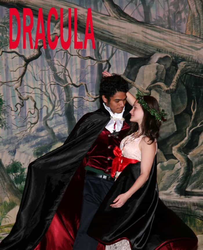 Dracula a biting performance.