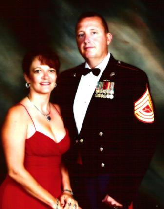 MSgt Jonathan and Peggy White.