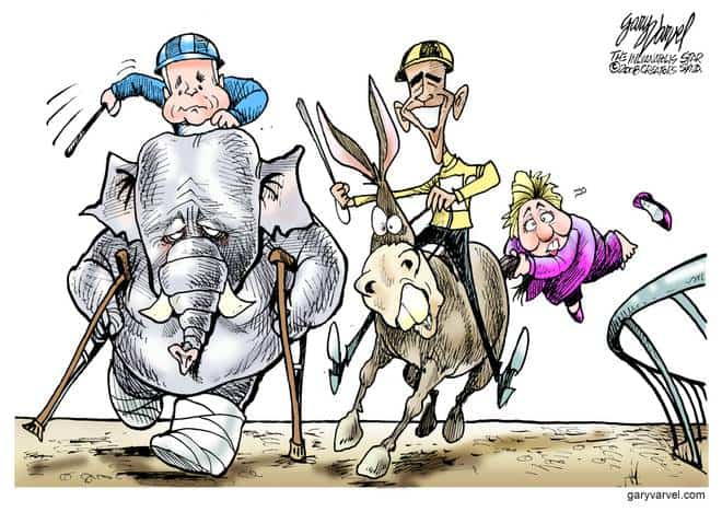 Editorial Cartoons by Gary Varvel - gv20080519bcd - 19 May 2008