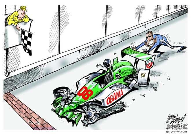 Editorial Cartoons by Gary Varvel - gv20080522cd - 22 May 2008