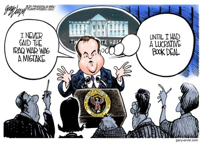 Editorial Cartoons by Gary Varvel - gv20080529cd - 29 May 2008