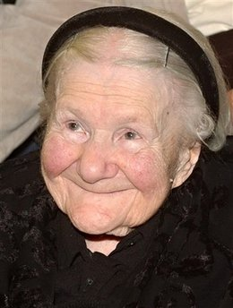 Imagine all the face and heart of Irena Sendler have seen.