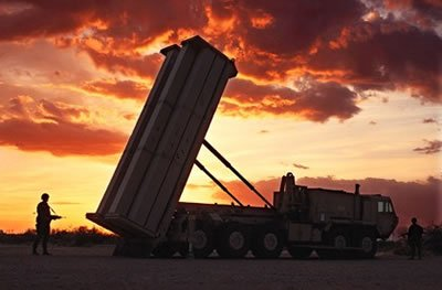 Lockheed Martin's Terminal High Altitude Area Defense (THAAD) Weapon System