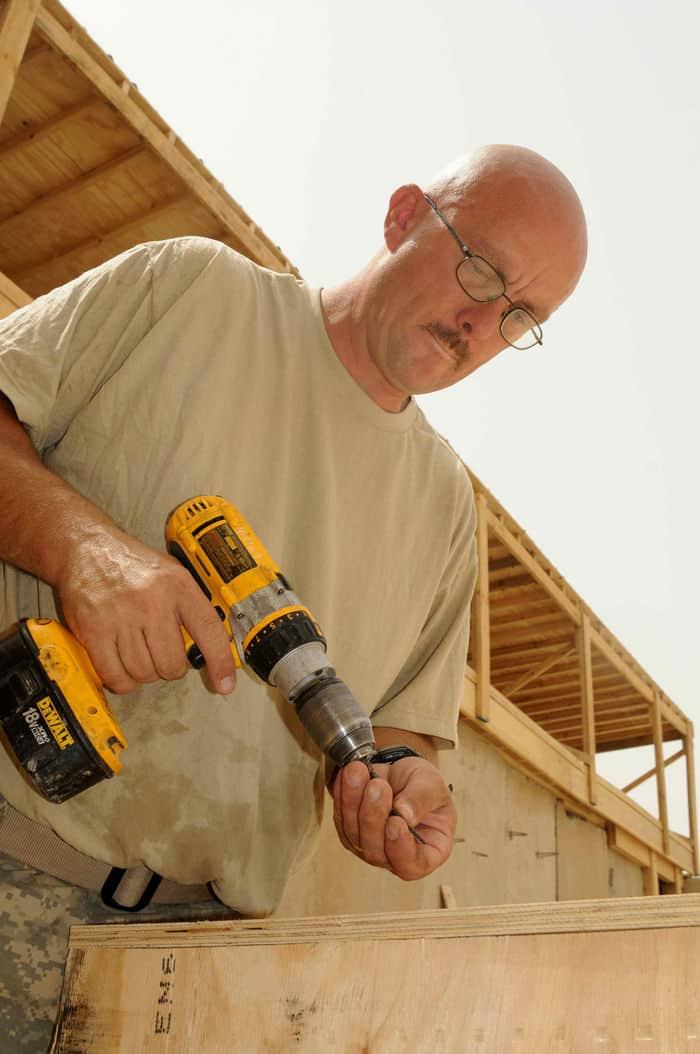 Sgt. Bob Crandall, a native of Brainerd, Minn., a carpentrymasonry specialist.