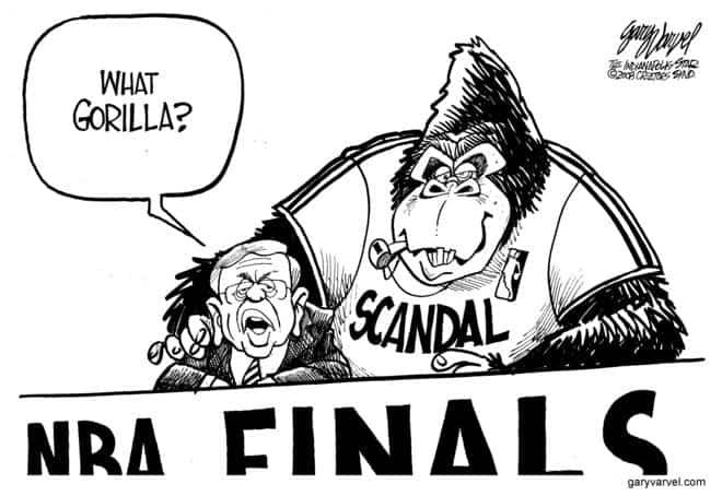 Editorial Cartoons by Gary Varvel - gv20080612d - 12 June 2008
