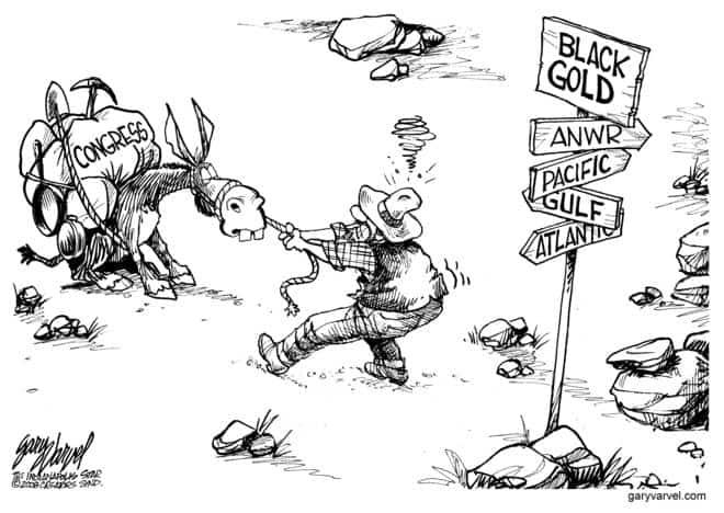 Editorial Cartoons by Gary Varvel - gv20080613d - 13 June 2008