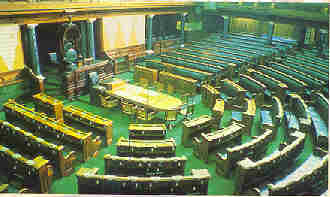 Indian Parliament inside view