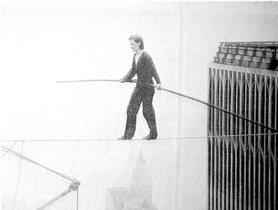 Philippe Petit The Man on Wire.