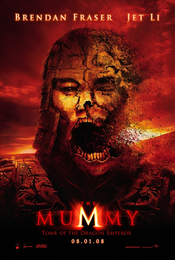 Mummy movie poster.