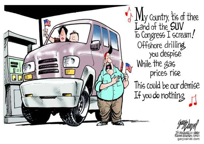 Editorial Cartoons by Gary Varvel - gv20080702cd - 02 July 2008