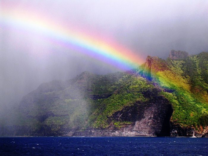 Rainbow, Kauai.