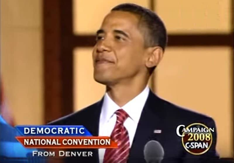 democrats nominate barack obama for us presidency.