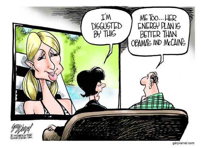 Editorial Cartoons by Gary Varvel - gv20080808cd - 08 August 2008