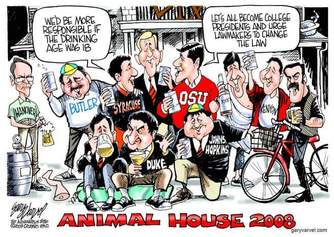 Editorial Cartoons by Gary Varvel - gv20080821cd - 21 August 2008