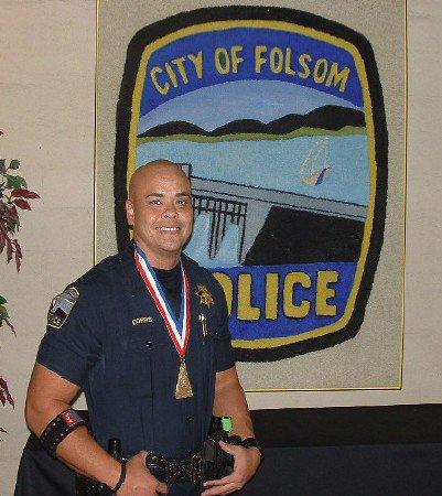 Officer Dorris, Folsom PD.