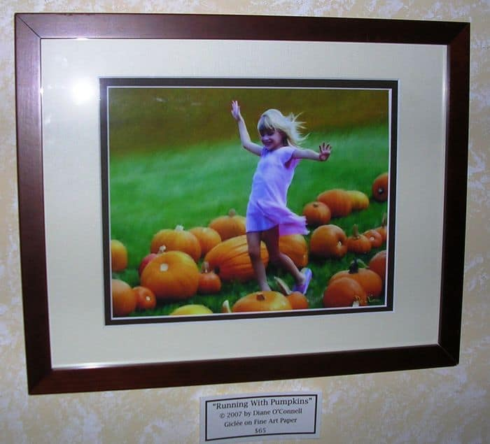 Running With Pumpkins photo.