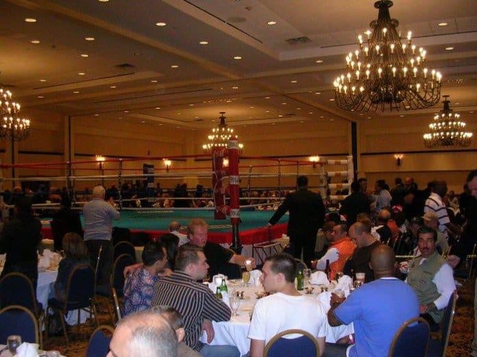 The Grand Ballroom, Huntington Hilton Hotel.