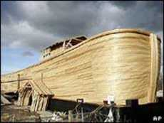 Work on Cedar Noahs Ark