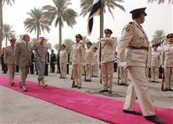 Iraqi Defense Ministry Bids Petraeus Farewell.