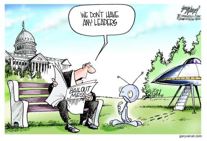 Editorial Cartoons by Gary Varvel - gv20081003cd - 03 October 2008