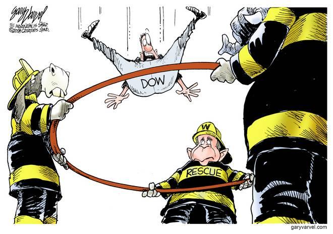 Editorial Cartoons by Gary Varvel - gv20081007cd - 07 October 2008