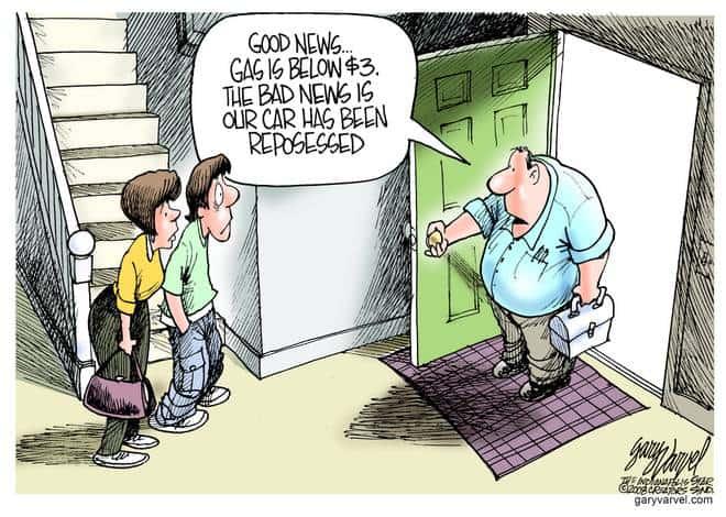 Editorial Cartoons by Gary Varvel - gv20081013cd - 13 October 2008
