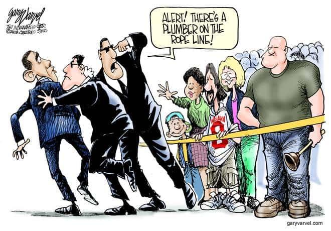 Editorial Cartoons by Gary Varvel - gv20081023cd - 23 October 2008