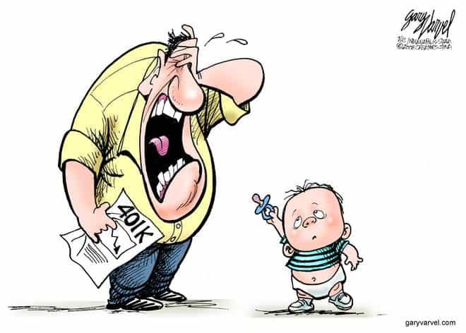 Editorial Cartoons by Gary Varvel - gv20081025cd - 25 October 2008