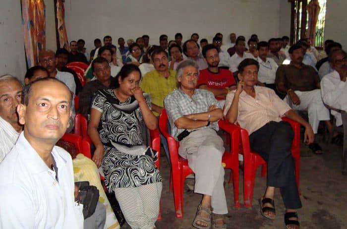 Citizens Meet in progress at Guwahati Press Club