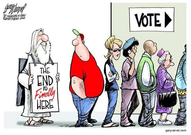 Editorial Cartoons by Gary Varvel - gv20081104cd - 04 November 2008