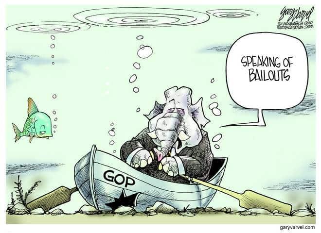 Editorial Cartoons by Gary Varvel - gv20081106cd - 06 November 2008