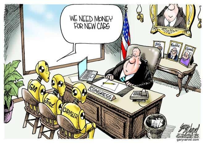 Editorial Cartoons by Gary Varvel - gv20081112cd - 12 November 2008