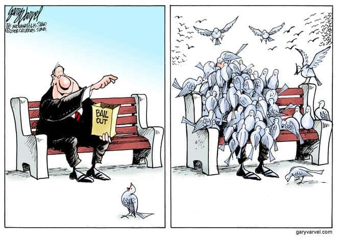 Editorial Cartoons by Gary Varvel - gv20081113cd - 13 November 2008