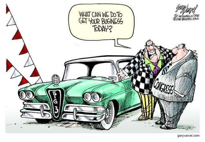 Editorial Cartoons by Gary Varvel - gv20081119cd - 19 November 2008