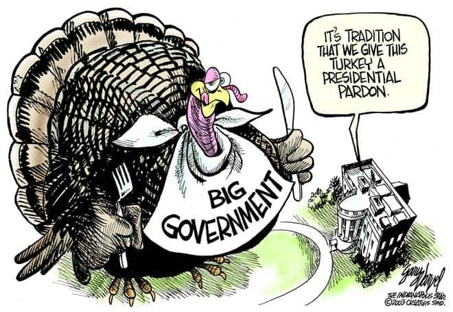 Editorial Cartoons by Gary Varvel - gv20081126cd - 26 November 2008