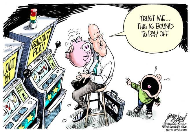 Editorial Cartoons by Gary Varvel - gv20081128cd - 28 November 2008