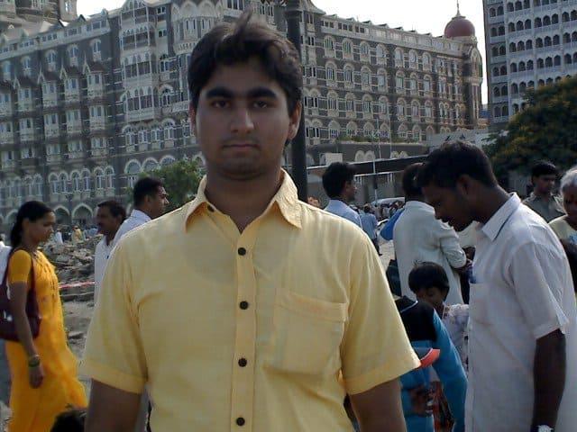 Hotel Taj in Bombay