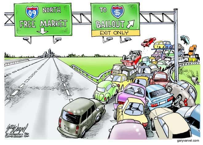 Editorial Cartoons by Gary Varvel - gv20081203cd - 03 December 2008